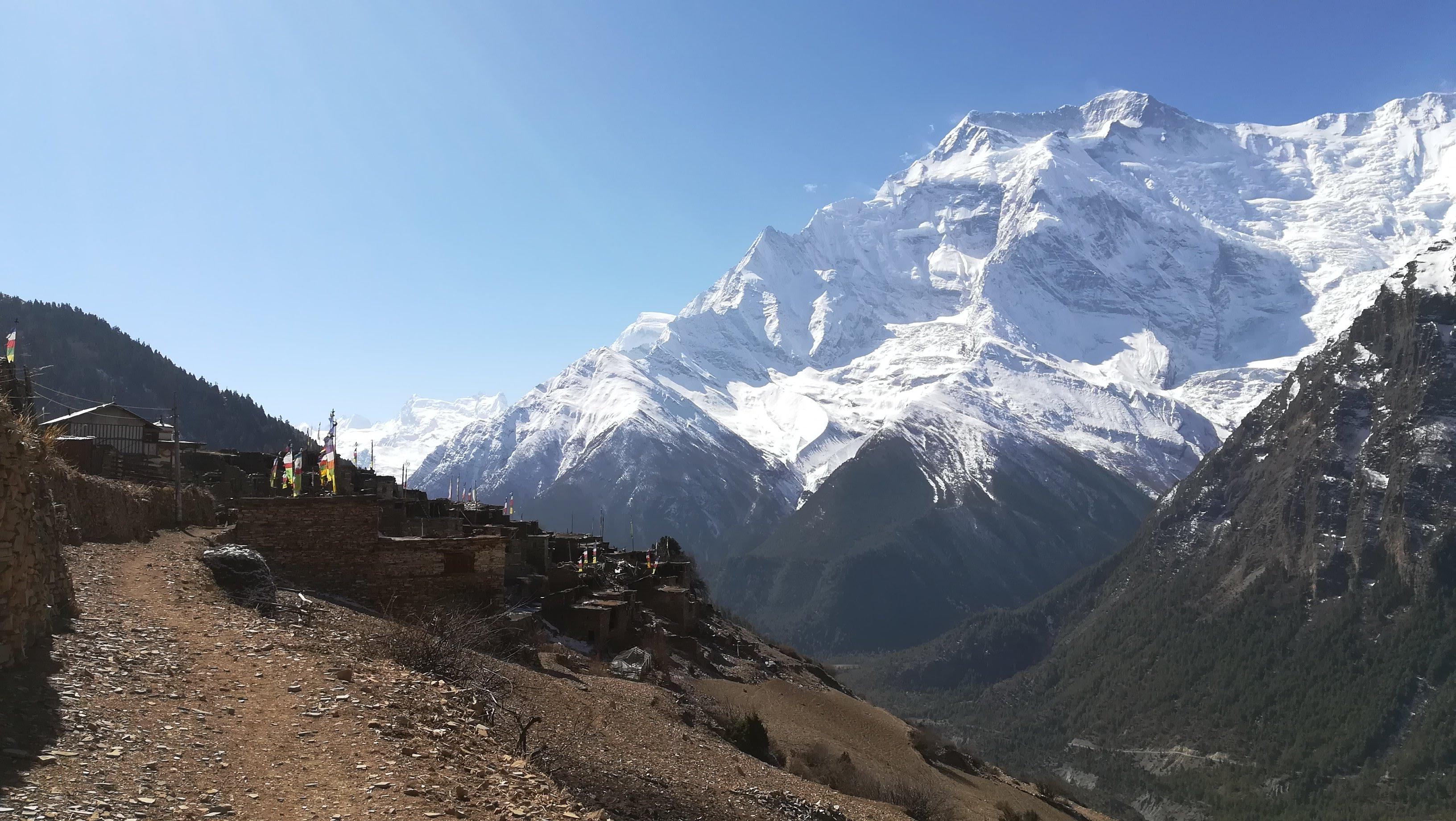Annapurna view