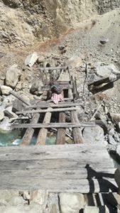 Bridge in Batang Annapurna