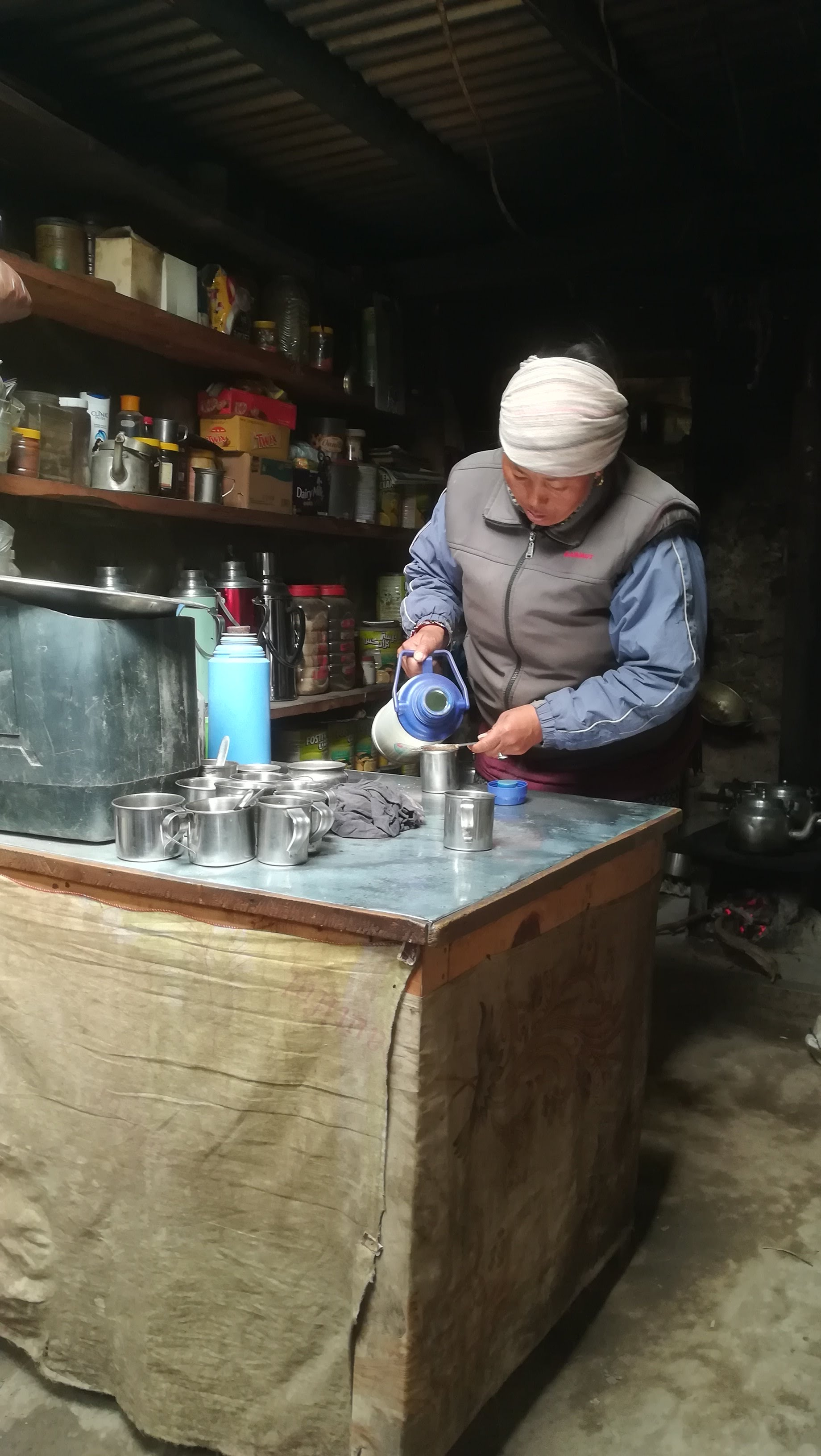 Ginger tea annapurna circuit