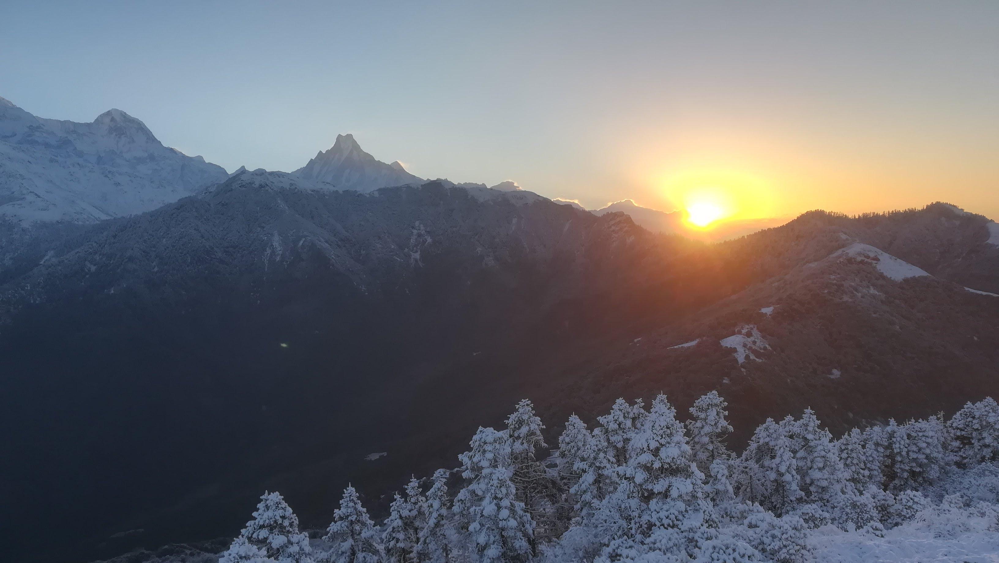 Sunrise Poon Hill