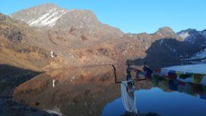 Lac des religieux, Nepal