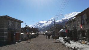 Manang town Annapurna