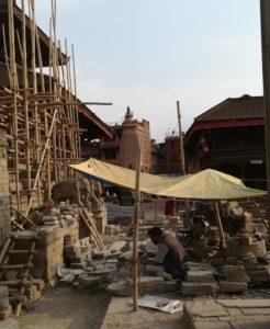 artigiano a Bhaktapur